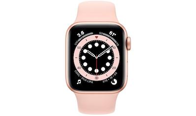 Apple Series 6 GPS, Aluminiumgehäuse mit Sportarmband 40mm Watch (Watch OS) kaufen