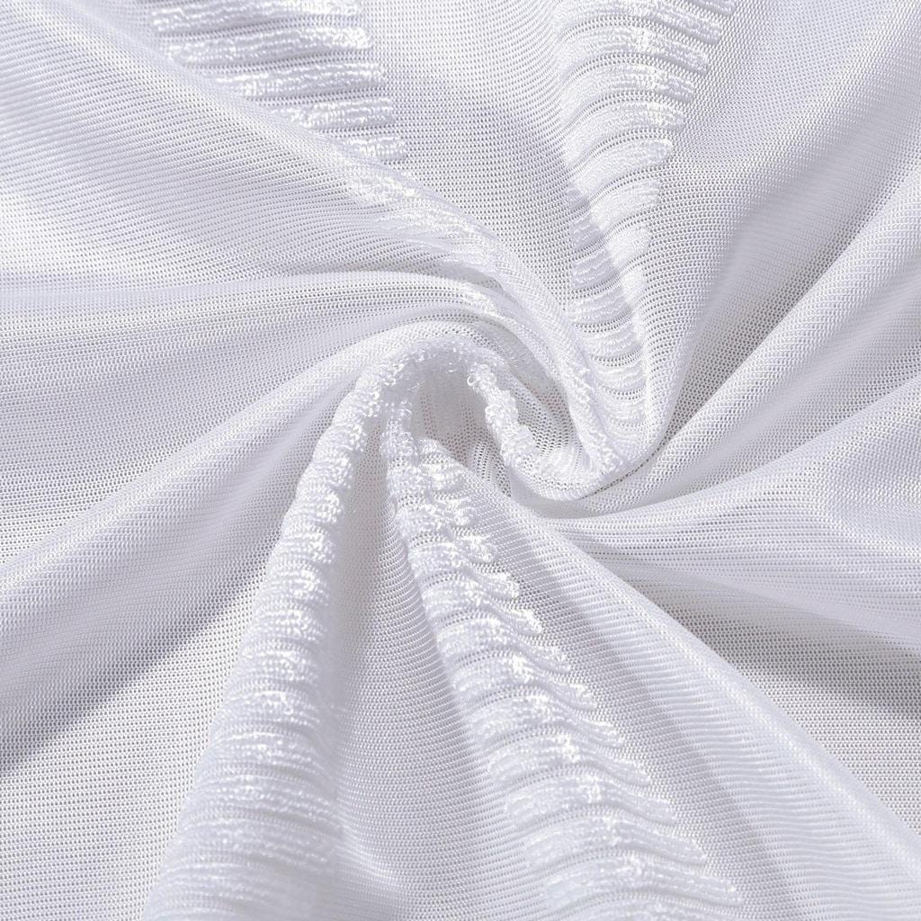 Gerster Vorhang »Edina«, HxB: 235x140, Ösenschal mit modernem Chenillemuster