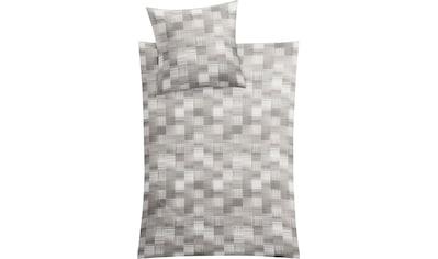 Kleine Wolke Bettwäsche »Dany«, in zeitlosem Karodesign kaufen