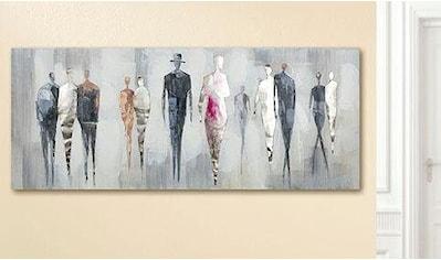 GILDE Leinwandbild »Gemälde People« kaufen