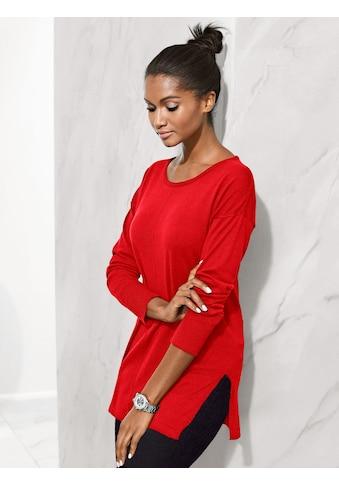 Alba Moda Pullover in softem Glattstrick kaufen