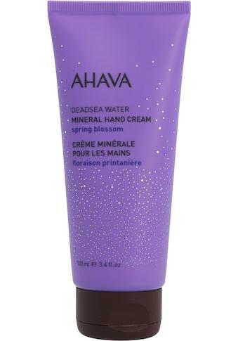 AHAVA Handcreme »Deadsea Water Mineral Hand Cream Spring Blossom« kaufen