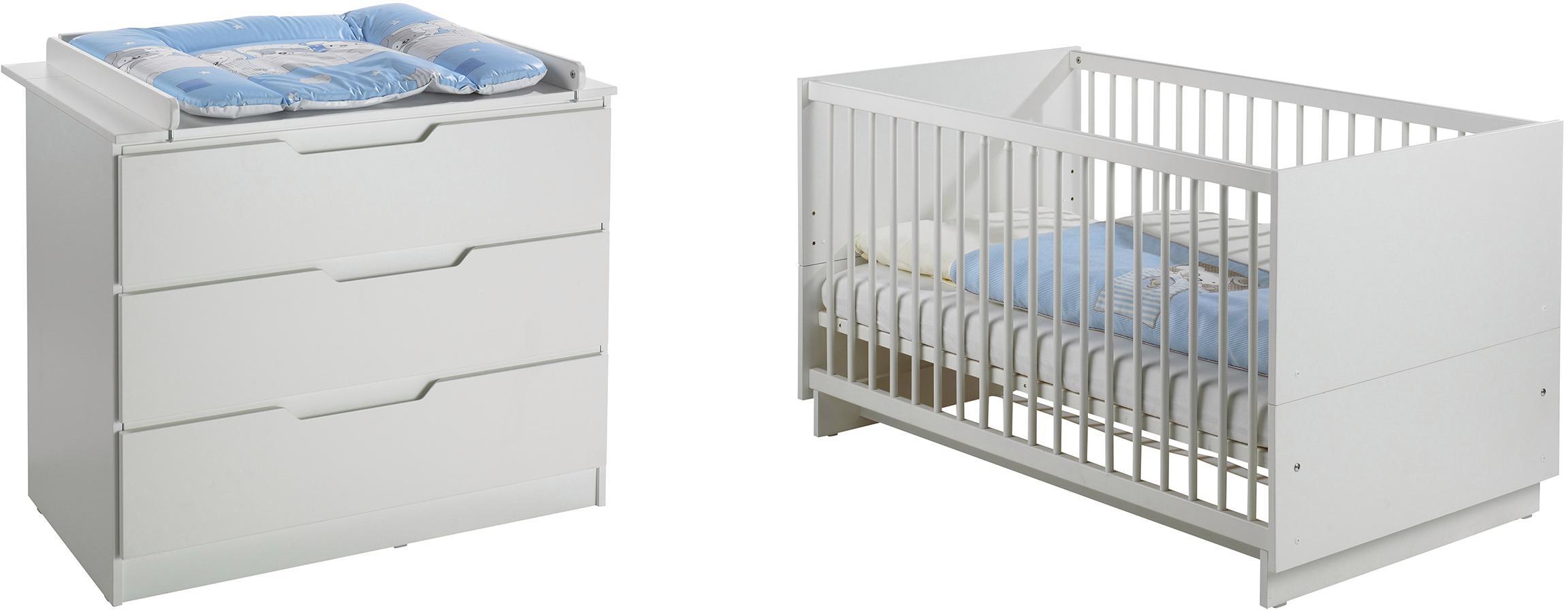 Geuther Babyzimmer Set 2 Tlg Fresh Weiß Bestellen Baur