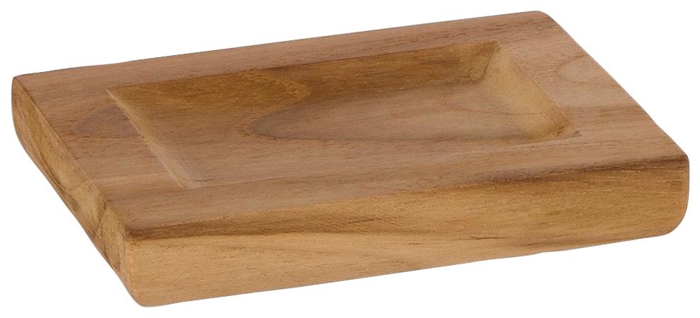 Möve Seifenschale, aus Holz braun Seifenschalen Badaccessoires Badmöbel Seifenschale