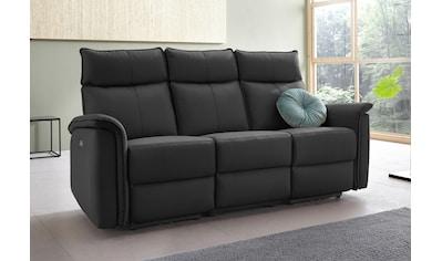 Places of Style 3-Sitzer »Zola«, mit hohen Sitzkomfort durch elektrische Relaxfunktion, USB-Anschluss, Breite 197 cm kaufen