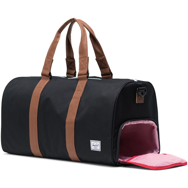 Herschel Reisetasche »Novel Mid-Volume - Black/Tan Synthetic Leather«