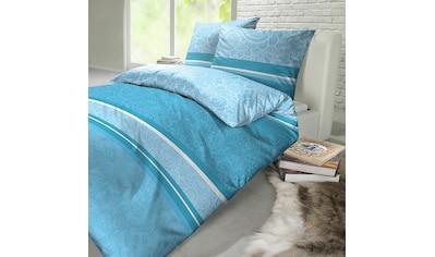 TRAUMSCHLAF Bettwäsche »Liman soft türkis«, orientalisches Design mit seidigem Glanz kaufen