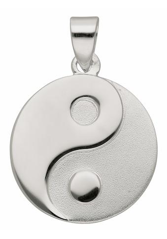 Adelia´s Kettenanhänger »925 Silber Anhänger Ying Yang Ø 15,8 mm«, Silberschmuck für... kaufen