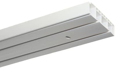 GARDINIA Gardinenstange »Vorhangschienen Set Kunststoff GK«, 2 läufig-läufig, Fixmaß kaufen