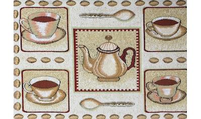 SPRÜGEL Platzset »Kaffeepause«, (Set, 4 St.), Gobelin kaufen