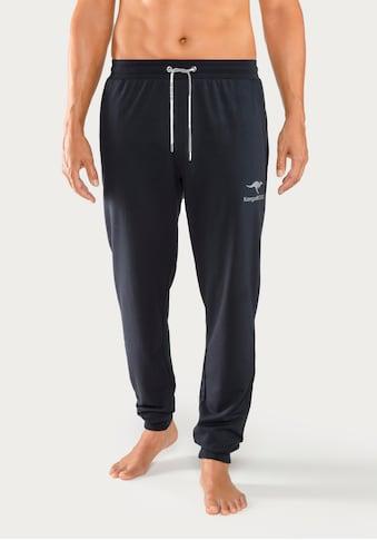 KangaROOS Relaxhose, Logodruck auf dem Bein kaufen