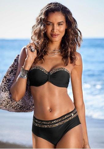 LASCANA Bügel-Bandeau-Bikini-Top »Adele«, mit trendigen Details kaufen