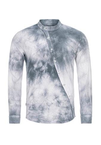 RedBridge Langarmhemd »League City«, mit Stehkragen kaufen