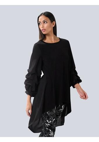 Alba Moda Longbluse, mit Raffungen an den Ärmeln kaufen