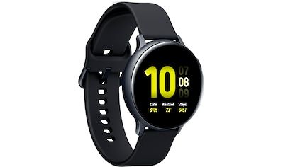 "Samsung Smartwatch »Galaxy Watch Active2 Aluminium, 44 mm, Bluetooth (SM-R820)« (3,4 cm/1,4 "", Gratis dazu: Galaxy Buds+ kaufen"