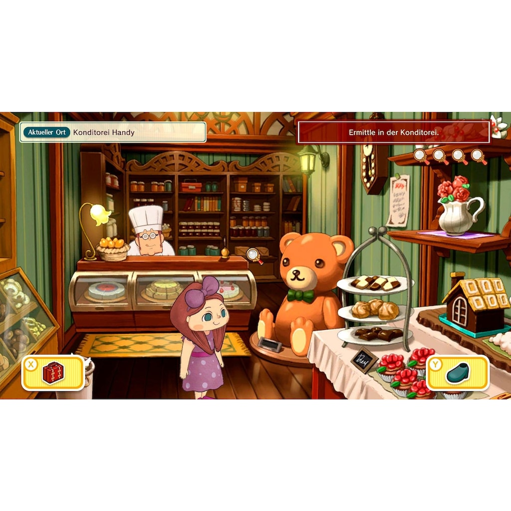 Nintendo Switch Spiel »Layton's Mystery Journey: Katrielle und die Verschwörung der Millionäre Deluxe«, Nintendo Switch