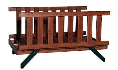 WEKA Verbindungsbrücke , für Spielturm und Aussichtsplattform »Tarpan« kaufen