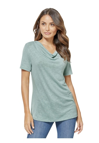 Creation L Shirt in dezenter Melange - Optik kaufen