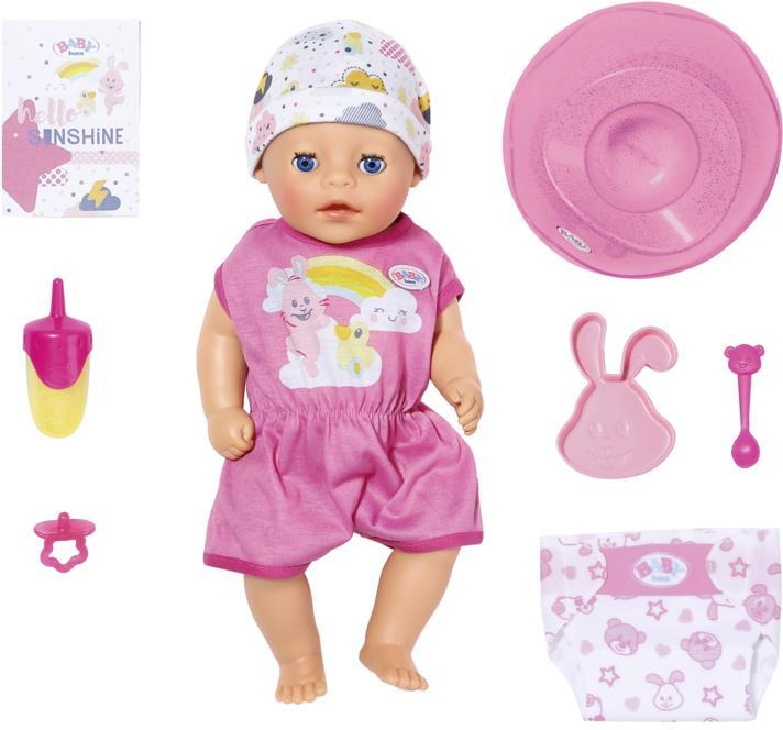 Baby Born Babypuppe Soft Touch Little Girl rosa Kinder Babypuppen Puppen