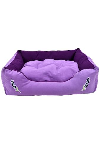HEIM Tierbett »Lavendel«, BxLxH: 70x90x20 cm kaufen