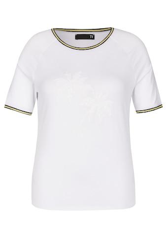 Thomas Rabe Shirt mit Raglanärmeln und Ripsbändern kaufen