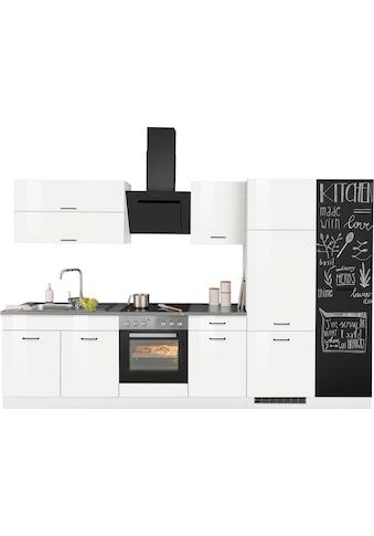 HELD MÖBEL Küchenzeile »Trier«, mit E-Geräten, Breite 320 cm kaufen