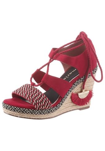 Tamaris Sandalette »Cynara«, im trendigen Ethno-Style kaufen