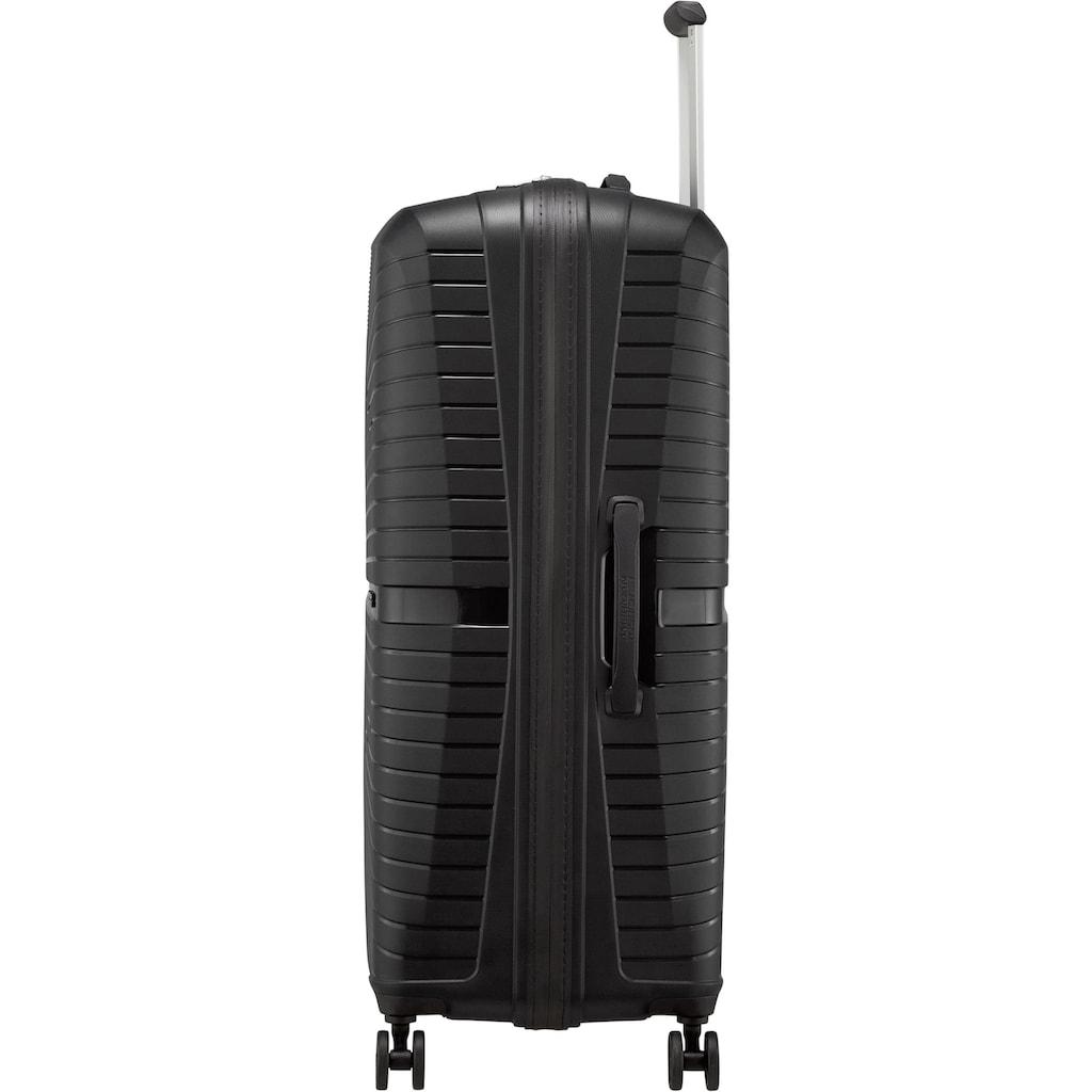 American Tourister® Hartschalen-Trolley »Airconic, 77 cm, onyx black«, 4 Rollen