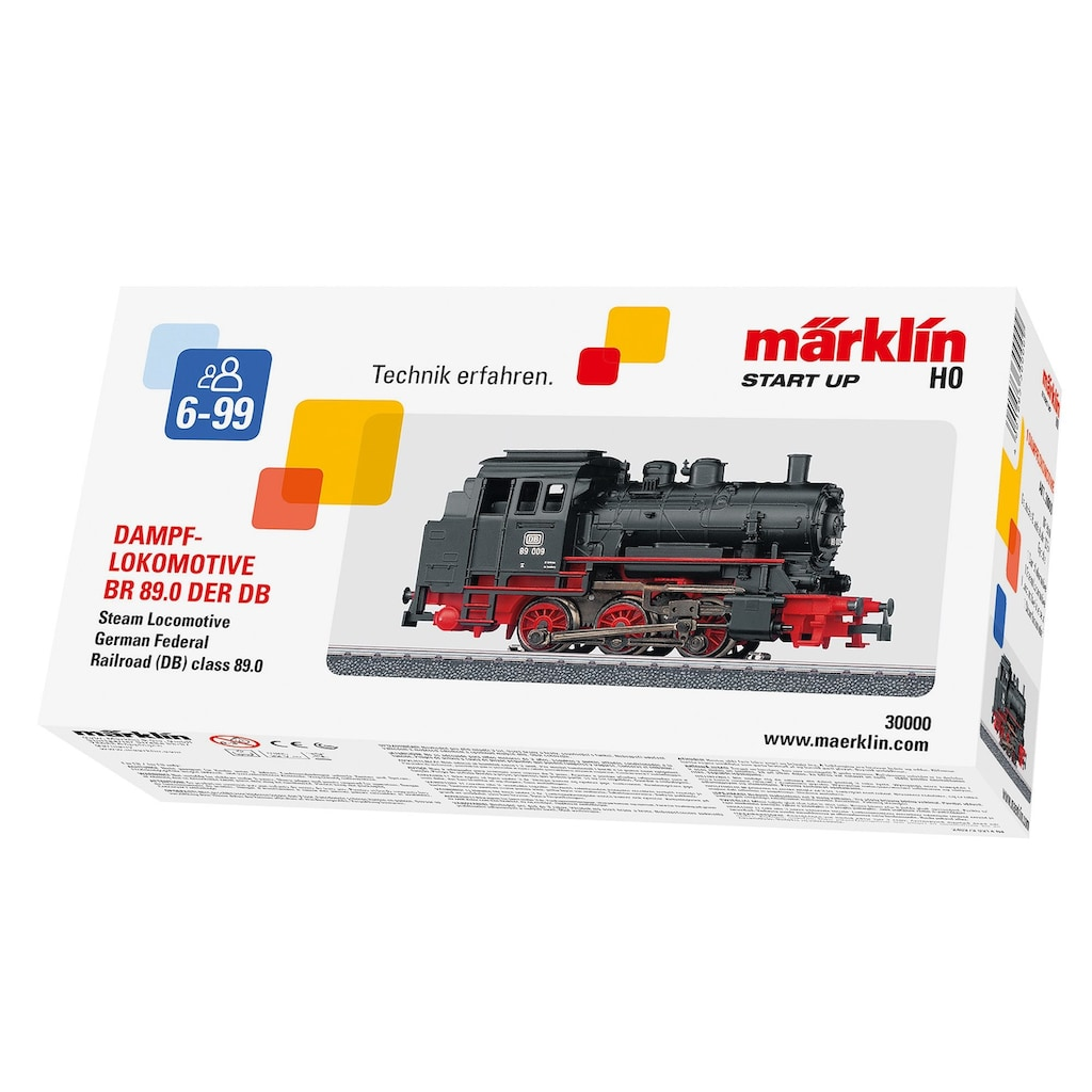 Märklin Tenderlokomotive »Märklin Start up - Baureihe 89.0 - 30000«