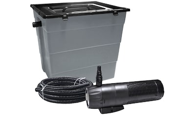 Heissner Teichfilter »SMARTLINE HLF6000-Set«, mit UVC-Klärer, Förderleistung: 1.000 l/h kaufen