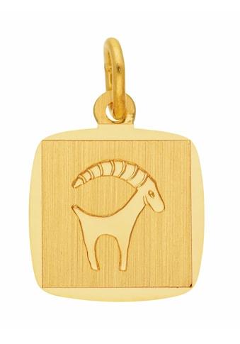 Adelia´s Kettenanhänger »333 Gold Sternzeichen Anhänger Steinbock«, Goldschmuck für... kaufen