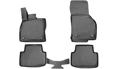 WALSER Passform-Fußmatten »XTR«, Skoda, Octavia, Kombi-Schrägheck, (4 St., 2... kaufen