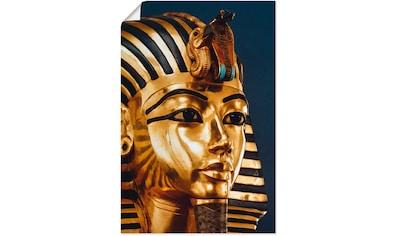 Artland Wandbild »Grabmaske von König Tutanchamun« kaufen