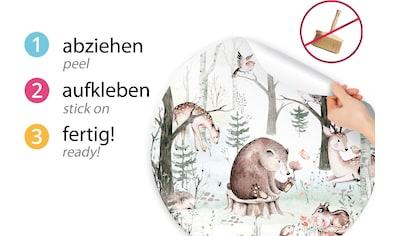 little DECO Wandtattoo »Little Deco Wandtattoo Waldtiere Bär Eule Reh« kaufen