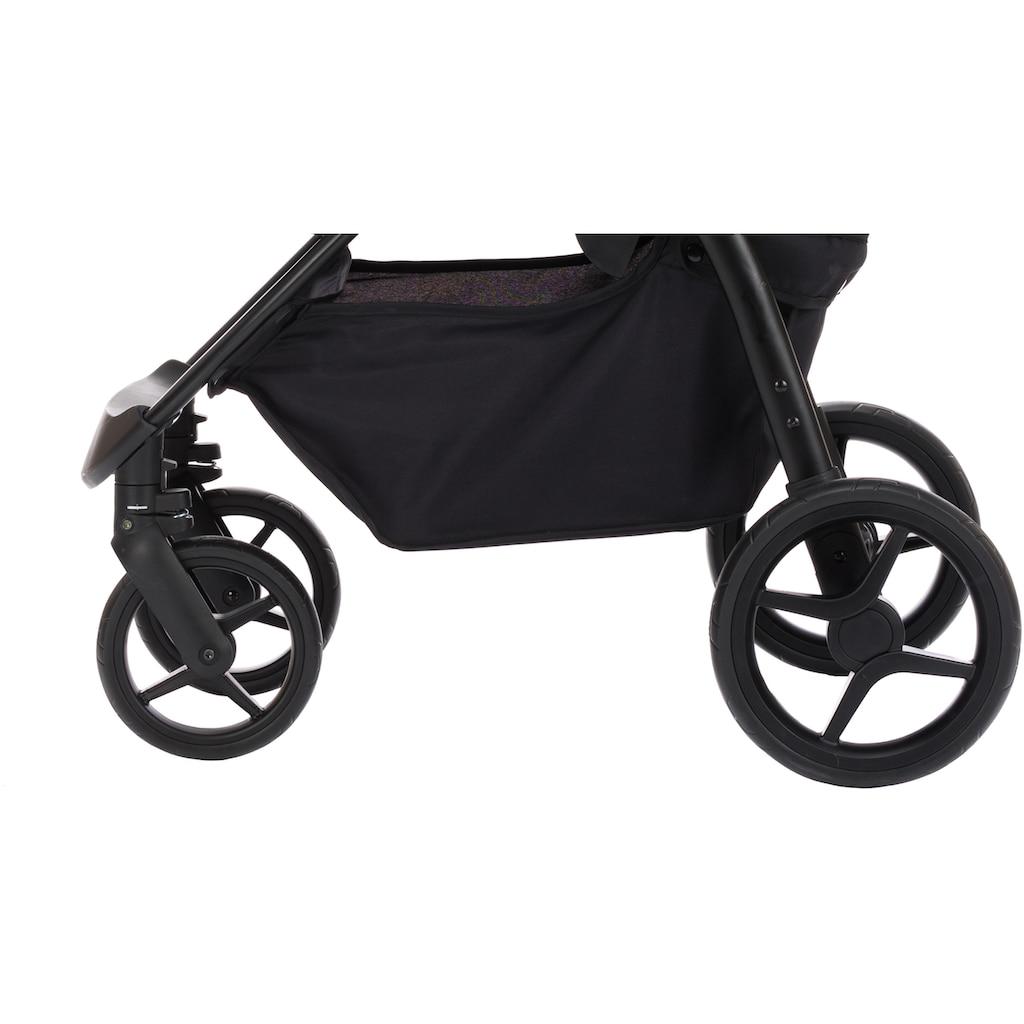 Fillikid Kinder-Buggy »Driver, dunkelgrau melange«, Kinderwagen, Buggy, Sportwagen, Sportbuggy, Kinderbuggy, Sport-Kinderwagen