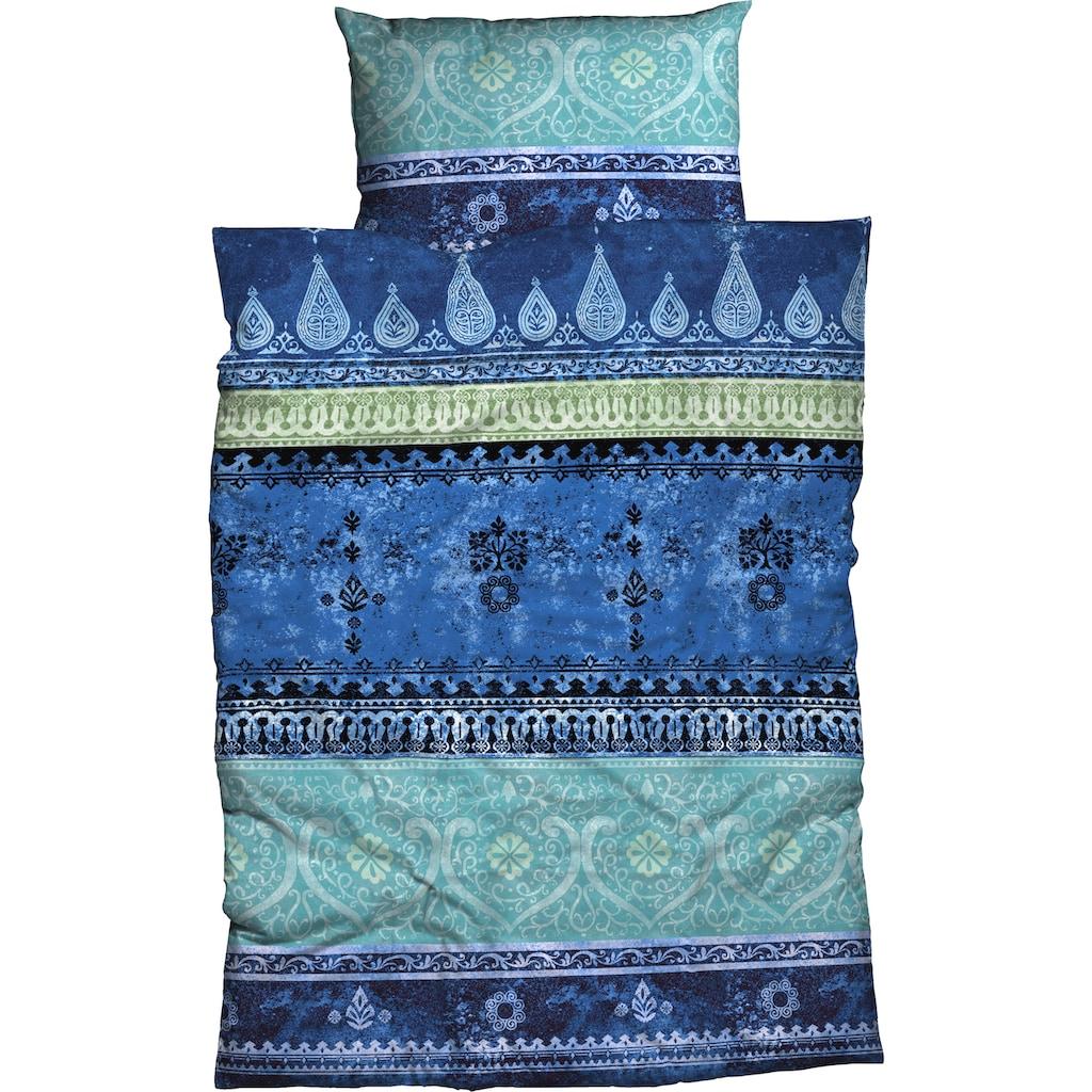 CASATEX Bettwäsche »Indi«, moderne Ornamente