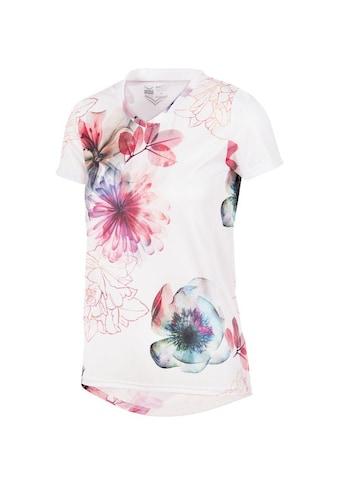 Trigema Sportshirt mit Blumenmuster kaufen