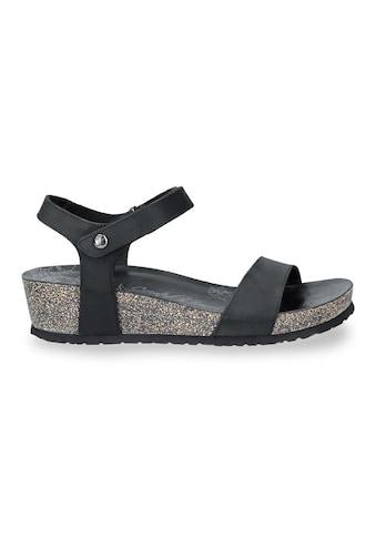 Panama Jack Riemchensandale »Capri Basics«, im klassischen Look kaufen