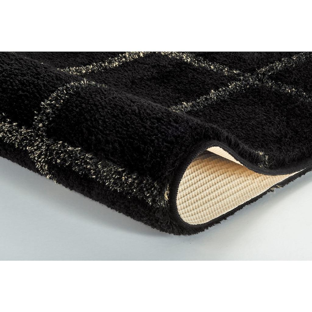 Kleine Wolke Badematte »Grid«, Höhe 22 mm, rutschhemmend beschichtet, fußbodenheizungsgeeignet