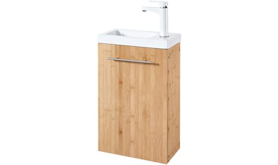 welltime Waschtisch »Bambus New«, Breite 40 cm, für das Gästebad, SlimLine kaufen