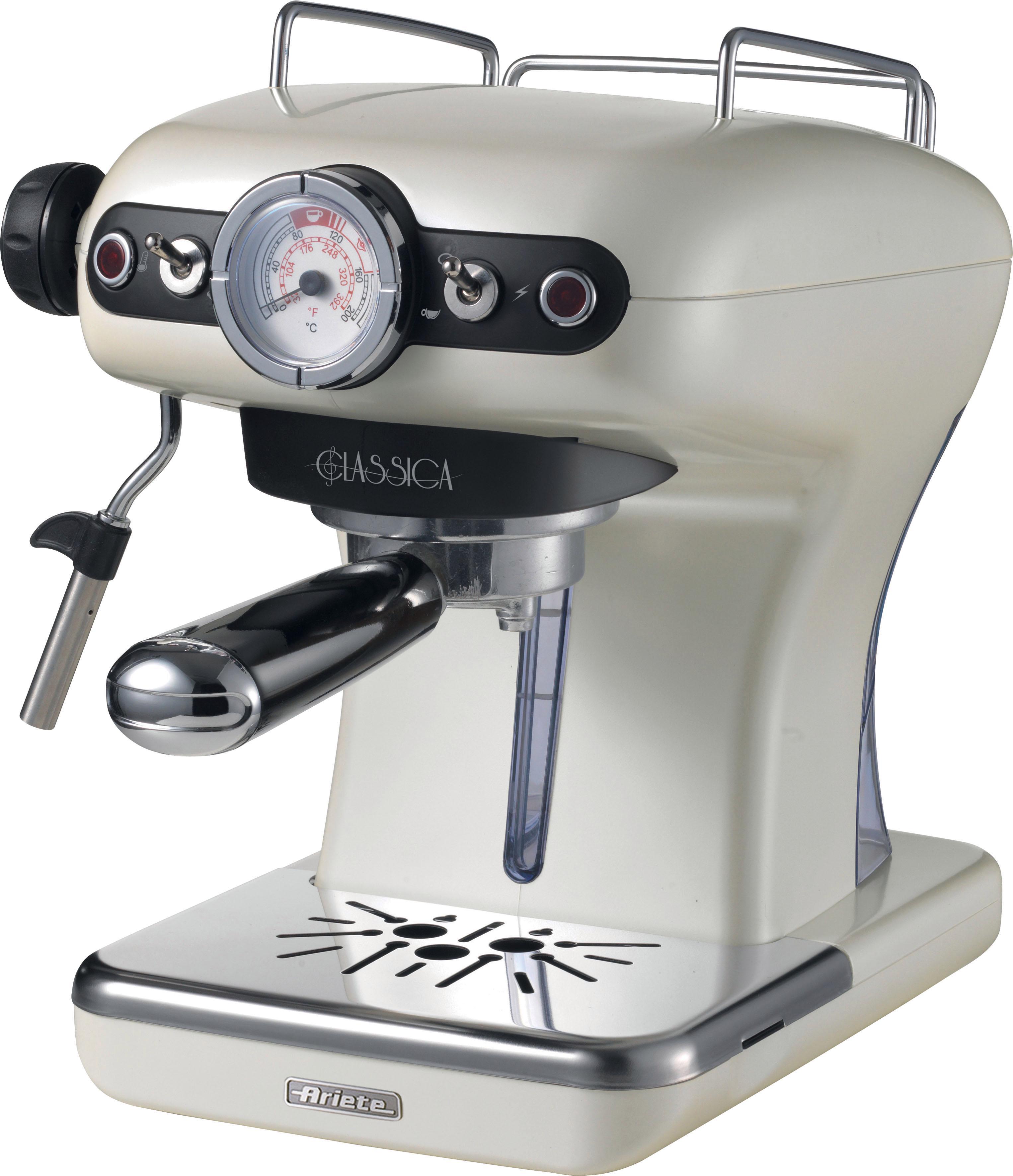 Ariete Espressomaschine 1389PE Siebträgermaschine Classia perlmutt | Küche und Esszimmer > Kaffee und Tee > Espressomaschinen | Weiß | Ariete