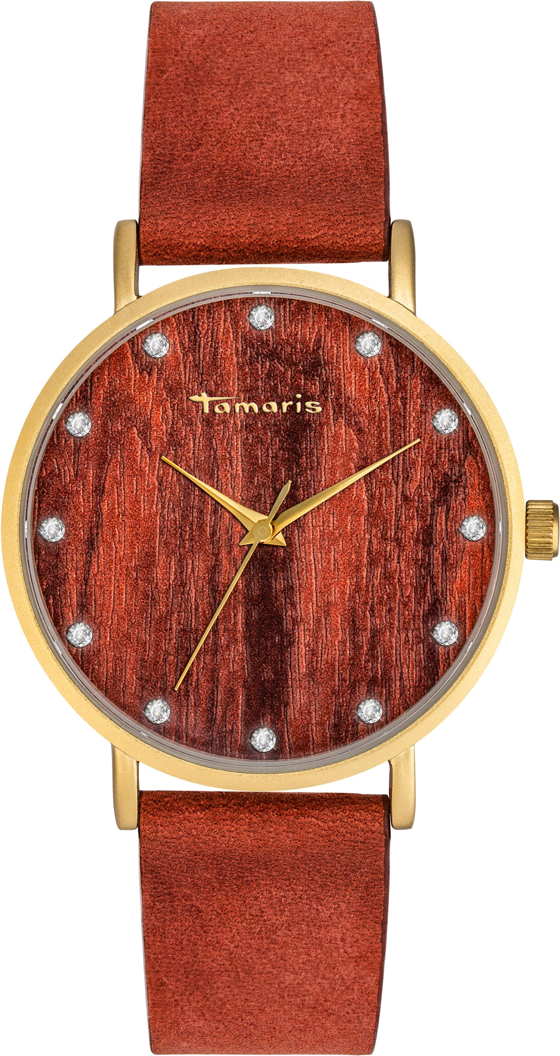 Tamaris Quarzuhr Alva wood gold, TW032 | Uhren > Quarzuhren | tamaris