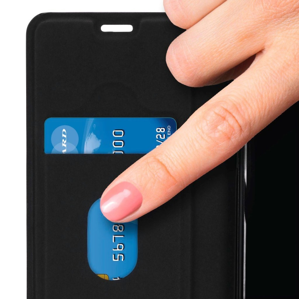 """Hama Booklet """"Guard Pro"""" für Samsung Galaxy S9, Schwarz"""