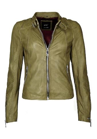 Maze Lederjacke mit Reißverschluss am Ärmel »Lindsay« kaufen