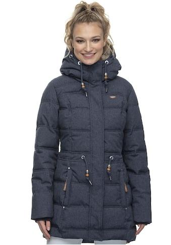 Ragwear Steppjacke »ASHANI PUFFY B«, moderne Winterjacke mit kuschelig warmen Innenfutter in Denim-Optik kaufen
