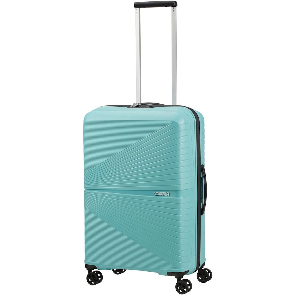 American Tourister® Hartschalen-Trolley »Airconic, 67 cm, purist blue«, 4 Rollen