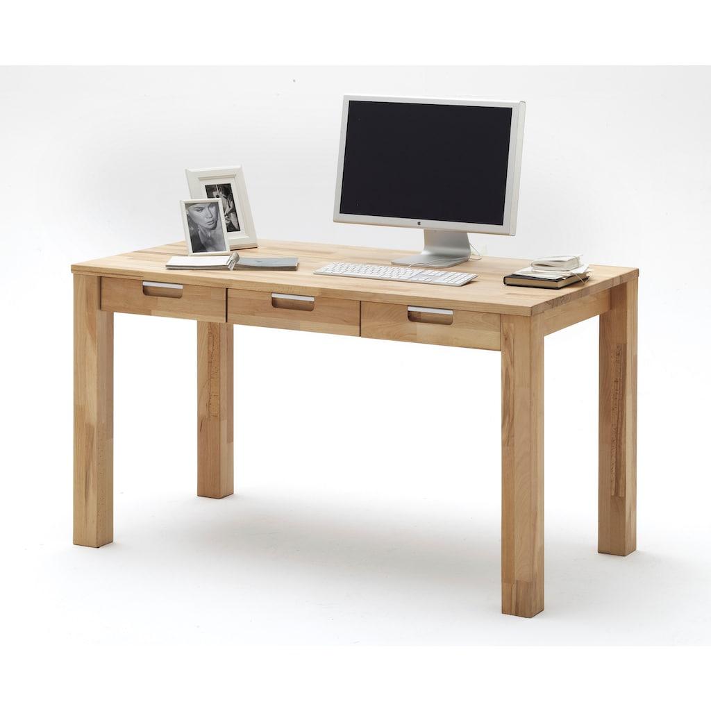 MCA furniture Schreibtisch »Cento 1«, Massivholz Kernbuche, Belastbar bis 40 Kg
