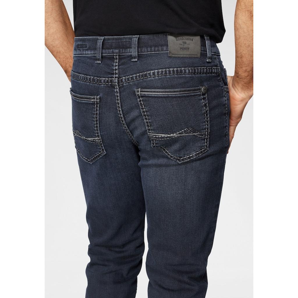Pioneer Authentic Jeans Straight-Jeans »Rando dicke Nähte«