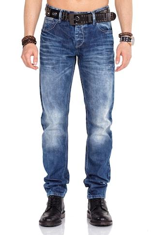 Cipo & Baxx Bequeme Jeans, im Straight Fit-Schnitt kaufen