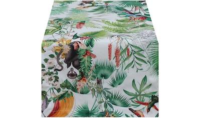 HOSSNER - HOMECOLLECTION Tischläufer »Dschungel«, (1 St.) kaufen